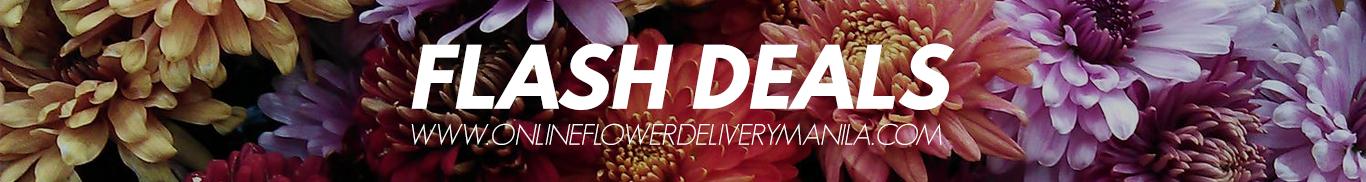 Flash Deals Online Flower shop in the Philippines