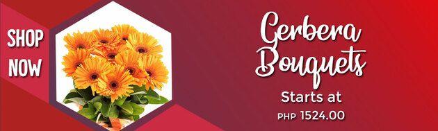 Gerbera Flower Bouquets