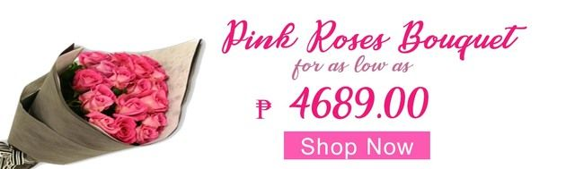 Pink Roses Delivery in San Juan City