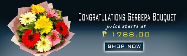 Congratulation Flower Delivery in Tarlac