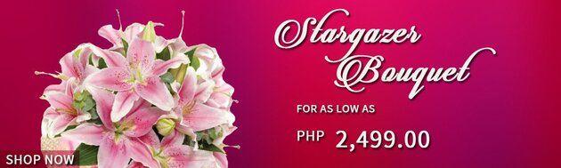 Stunning Stargazer Flower Bouquets
