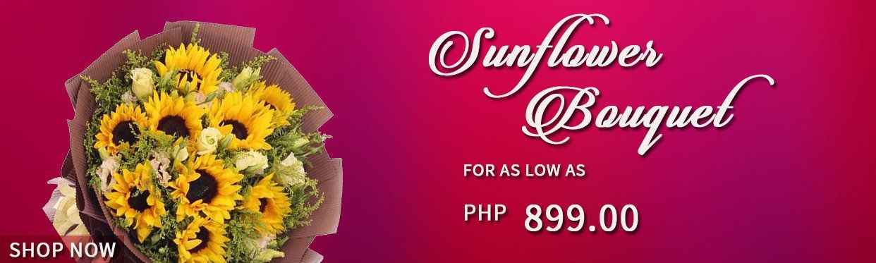 Cheap Sunflower Flower Bouquets