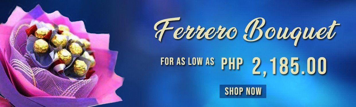 Cheap Ferrero Bouquets