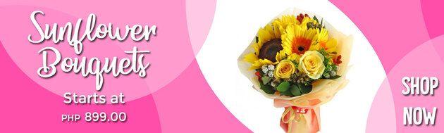 Sunflower Flower Bouquets