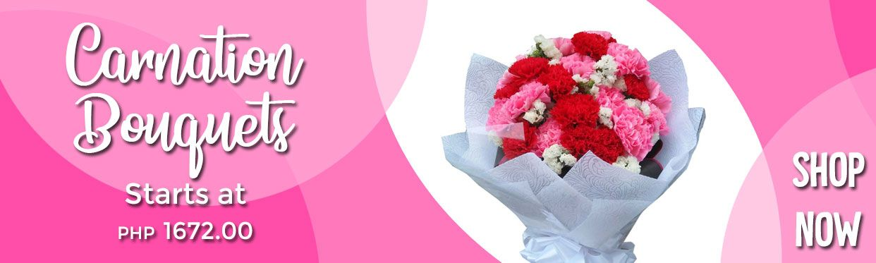 Affordable Carnation Flower Bouquets