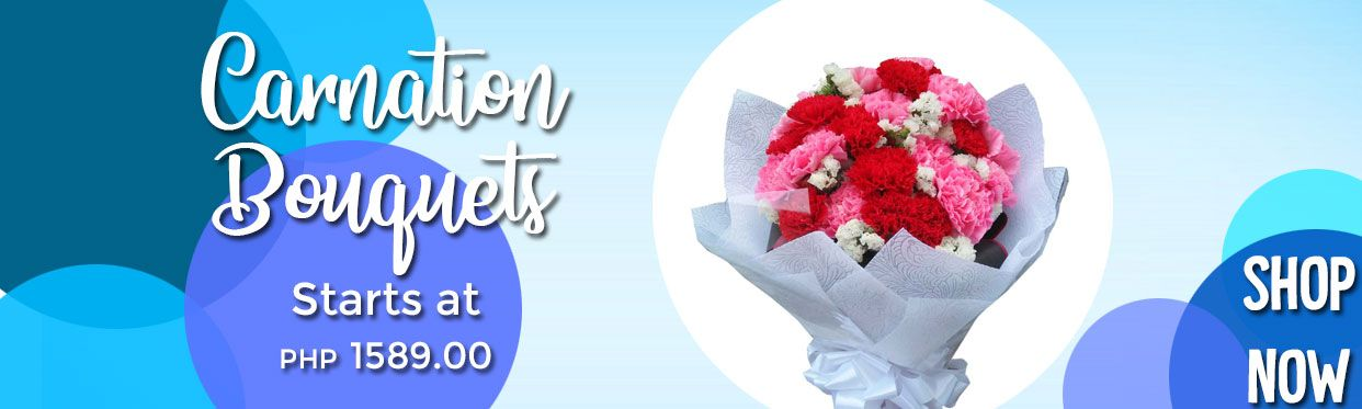 Carnation Flower Bouquet Arrangements