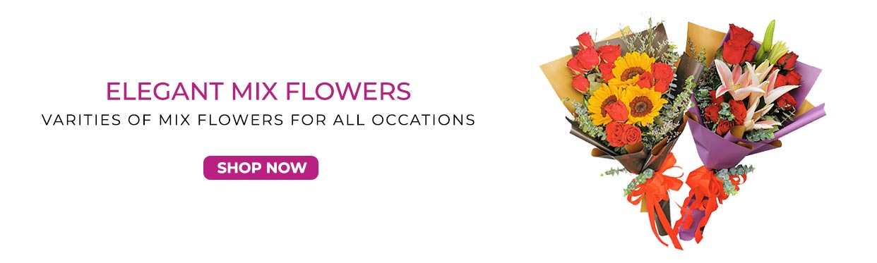Affordable Mixed  Flower Bouquets