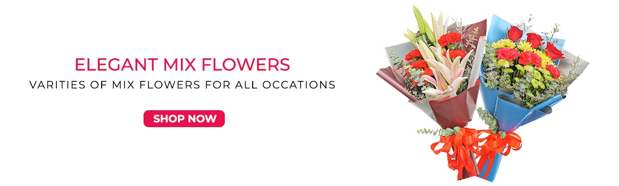 Very Affordable Mixed Flower Bouquets