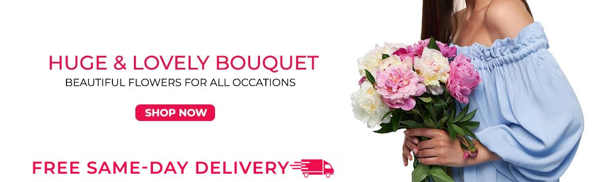 Huge and Lovely Bouquets.Price starts at PHP. 399