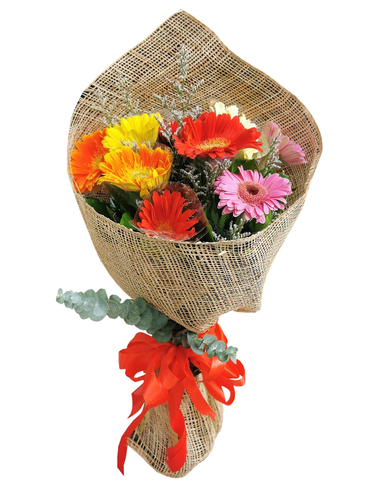 MIX Gerbera Burlap ph