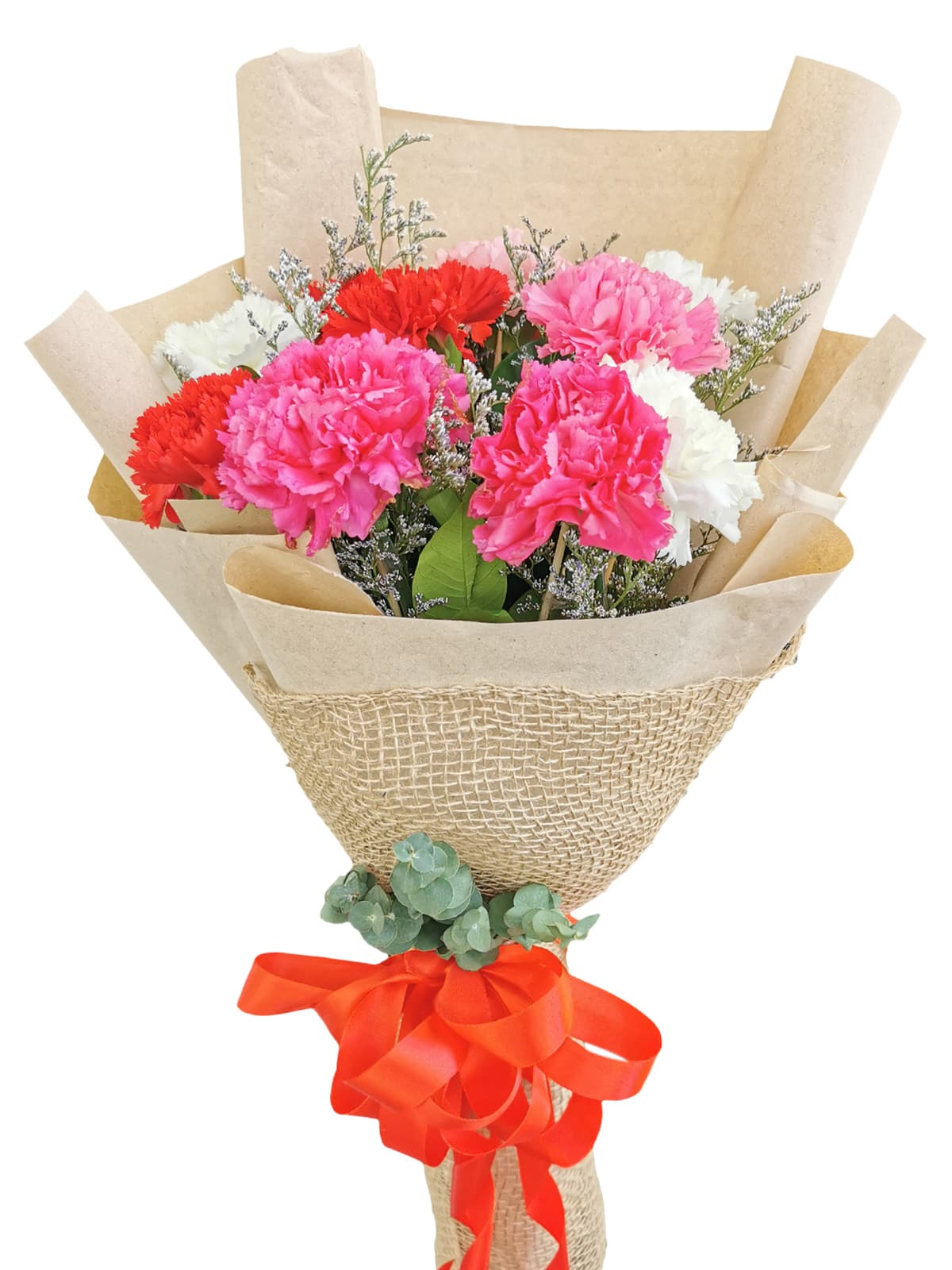 MIX Carnation Kraft Jute