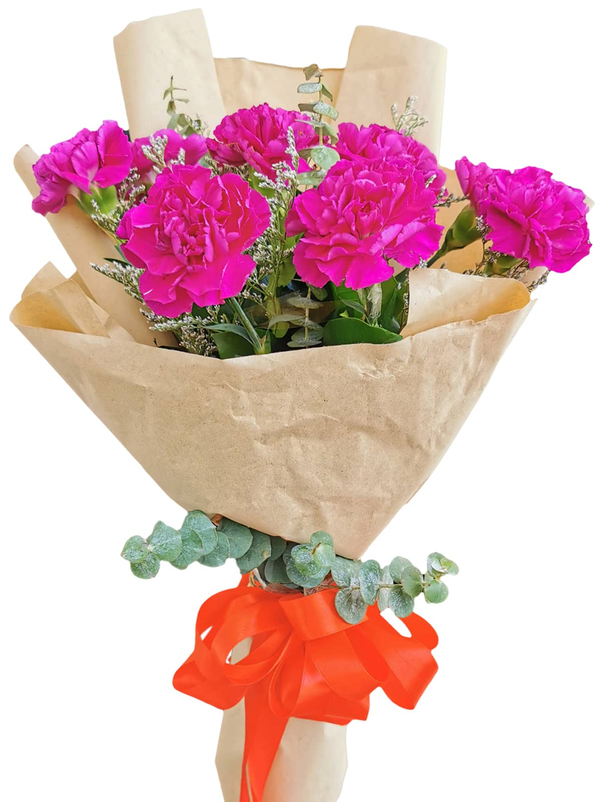 PURPLE Carnation Kraft Paper