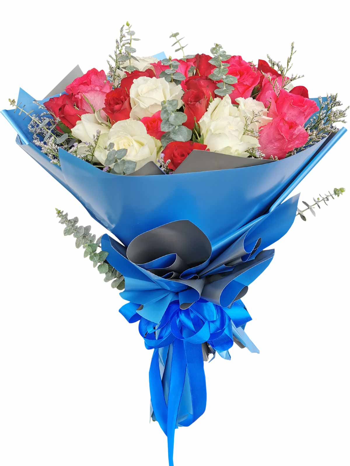 Mix Rose Blue Silver 36