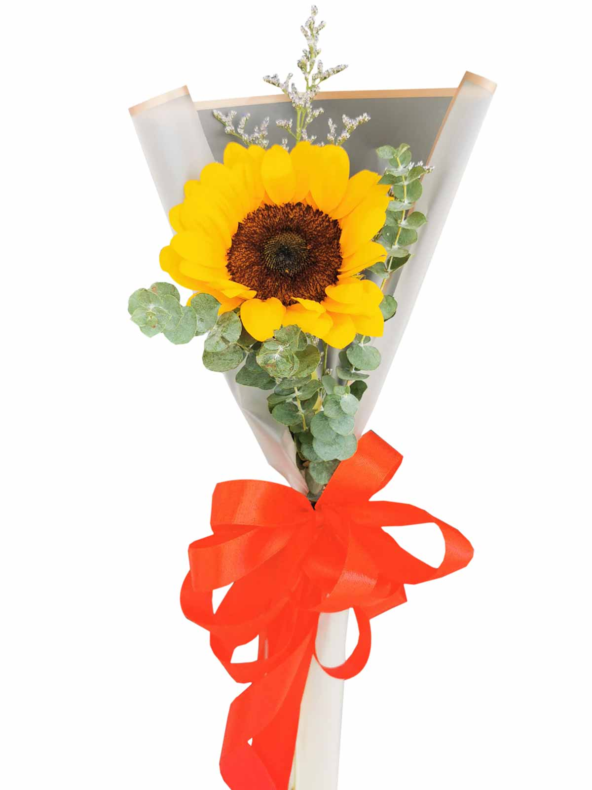 Sunflower White Wrapper