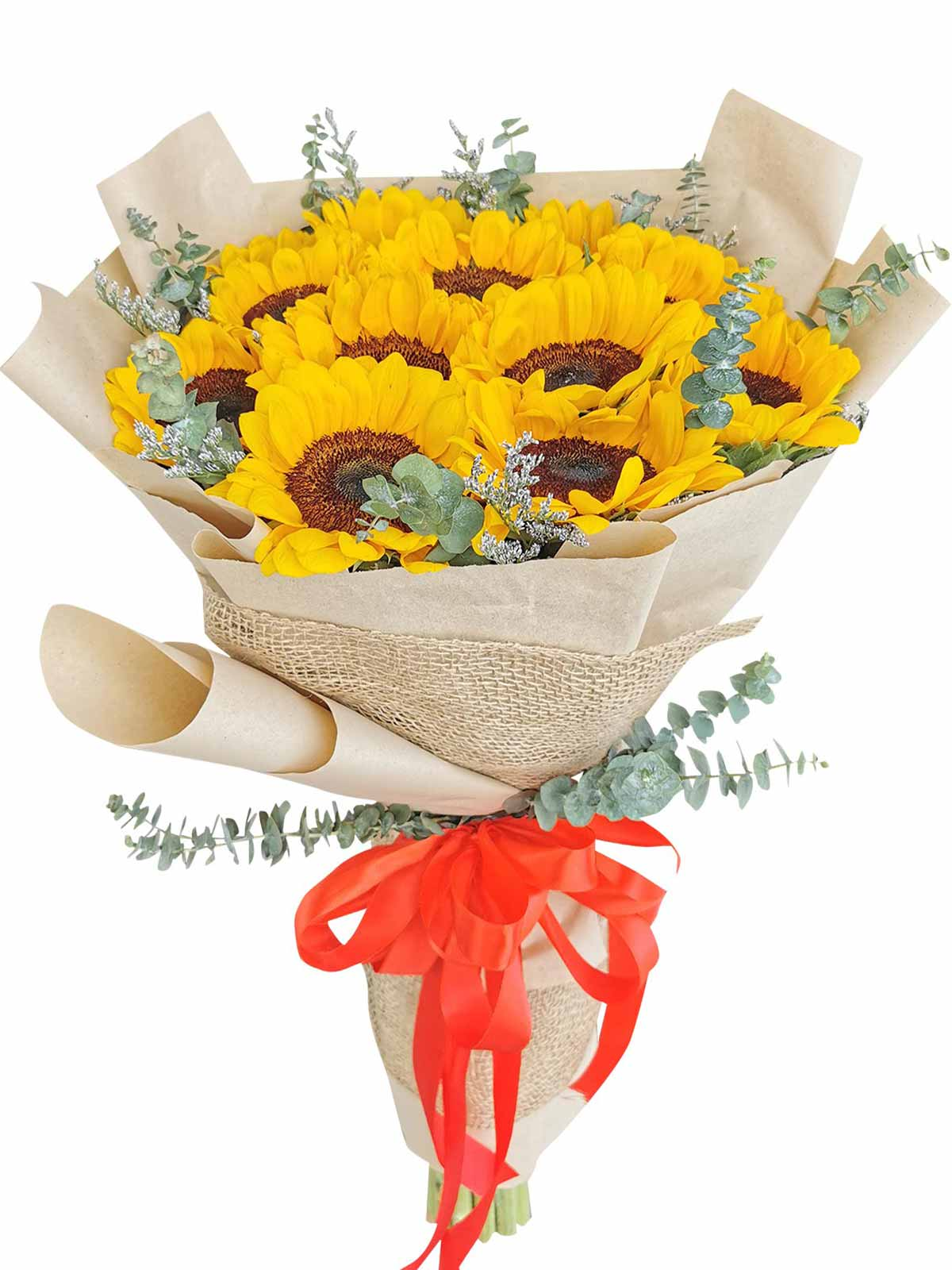 Sunflower Kraft Jute