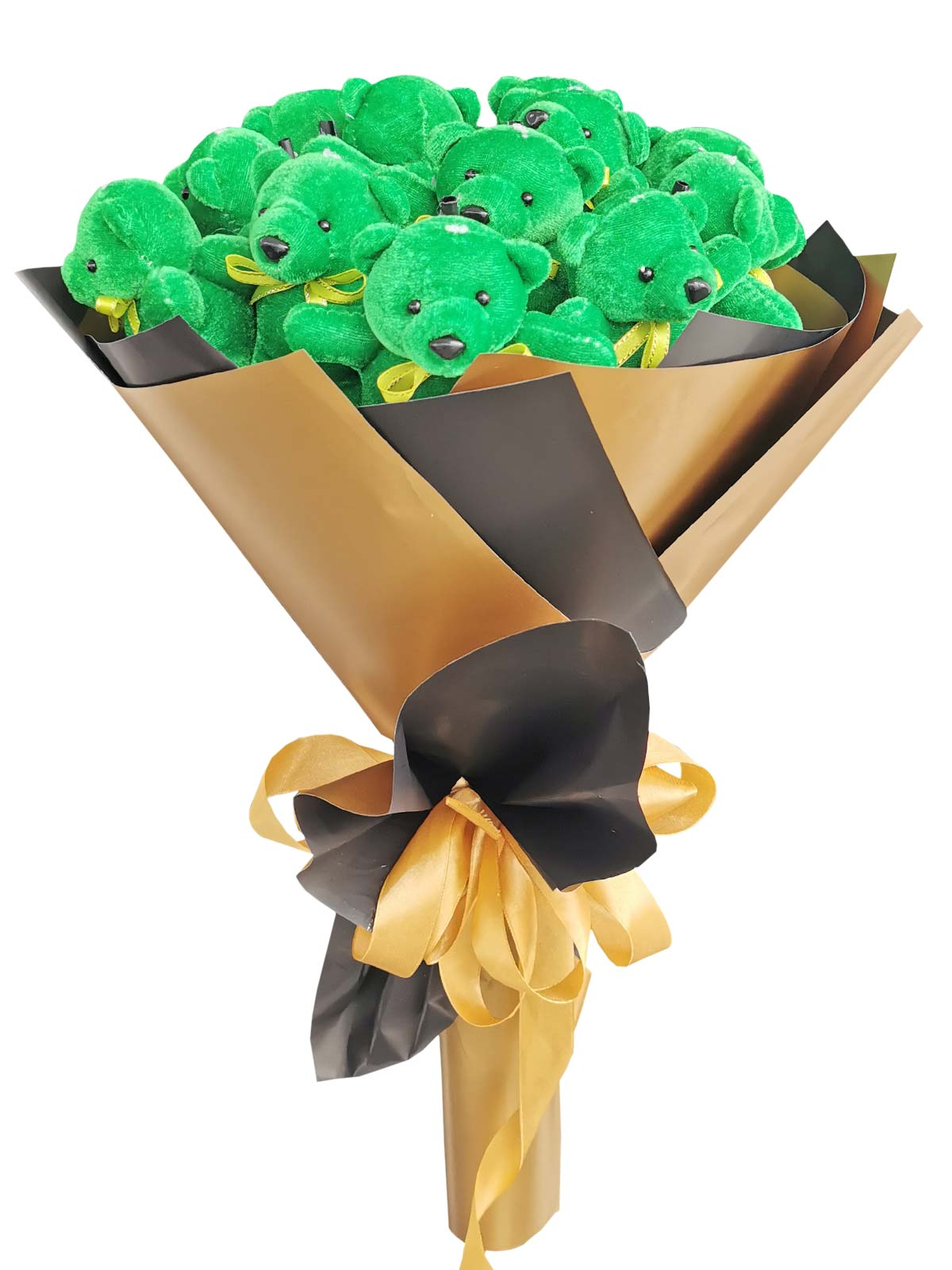 Green Bears 12 Black Gold