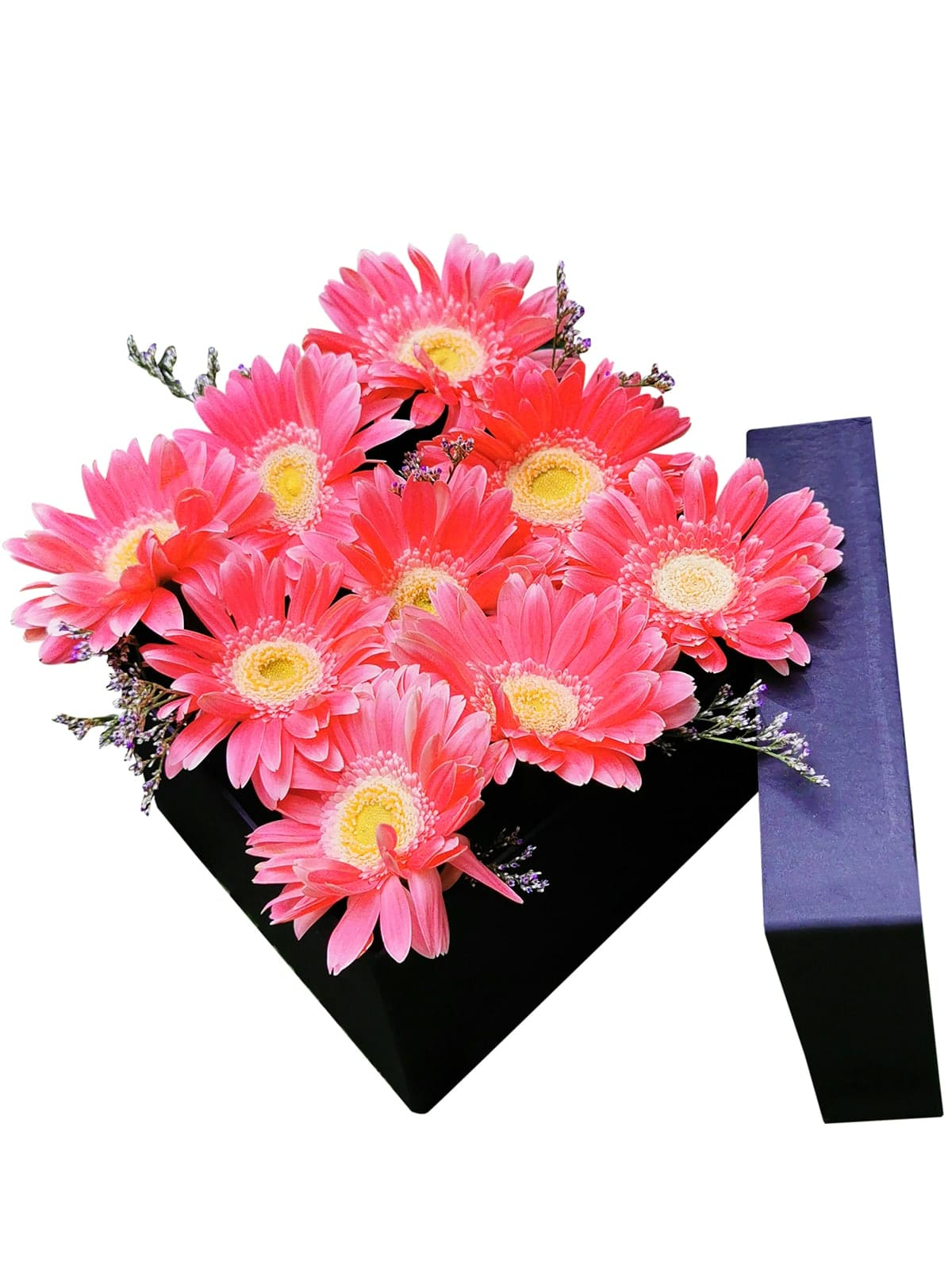 52 Pink Gerbera Love Box 001