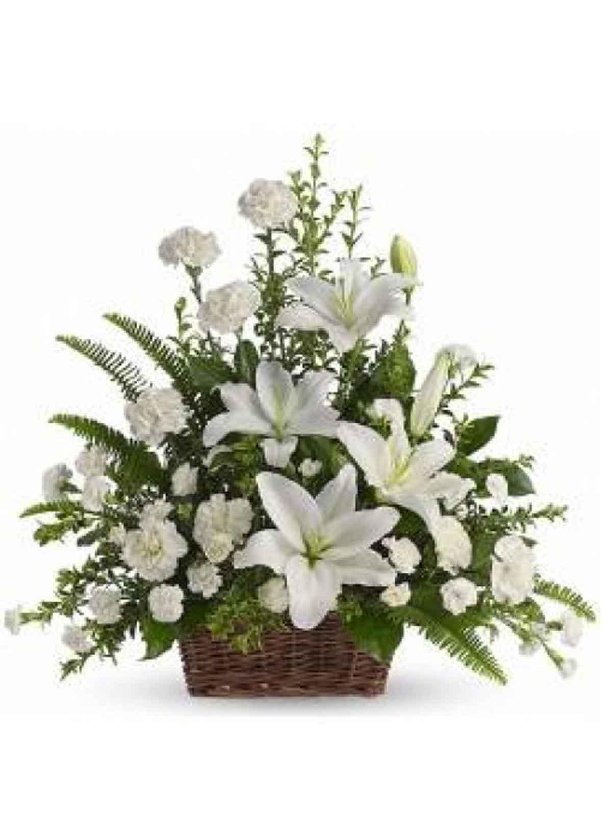 1130 Funeral Basket 010