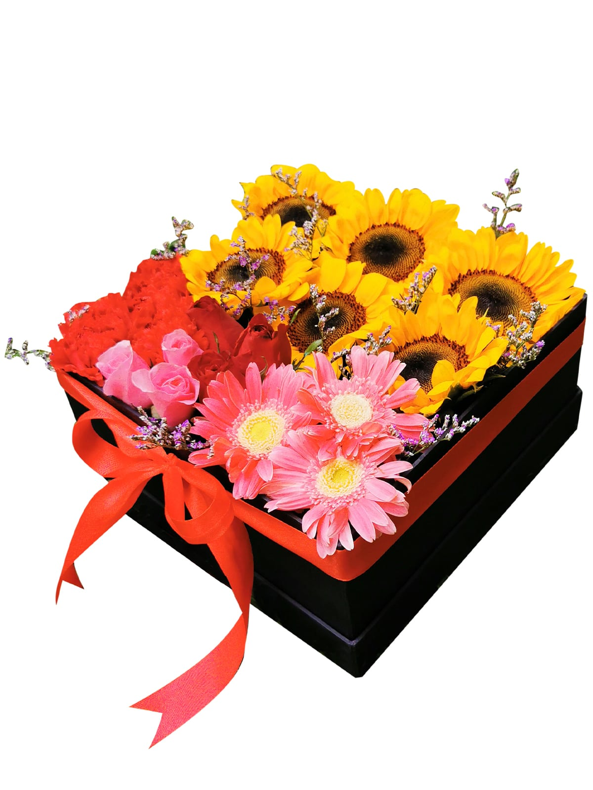 Mixed Flowers Love Box 001