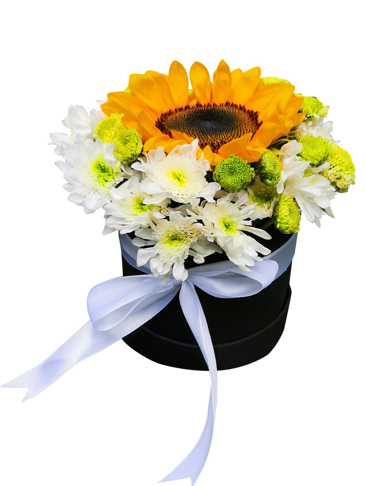 Sunflower Round Love Box