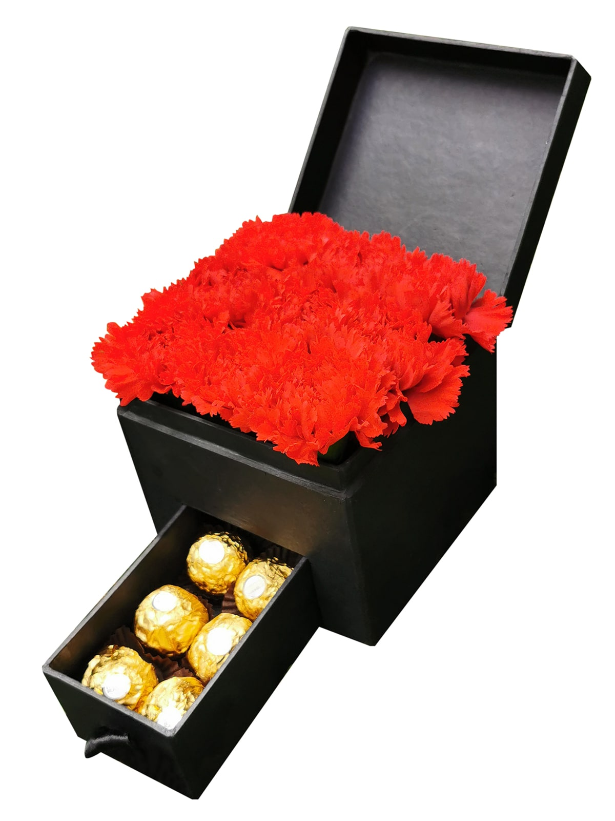Carnation Special Heart Love Box 002