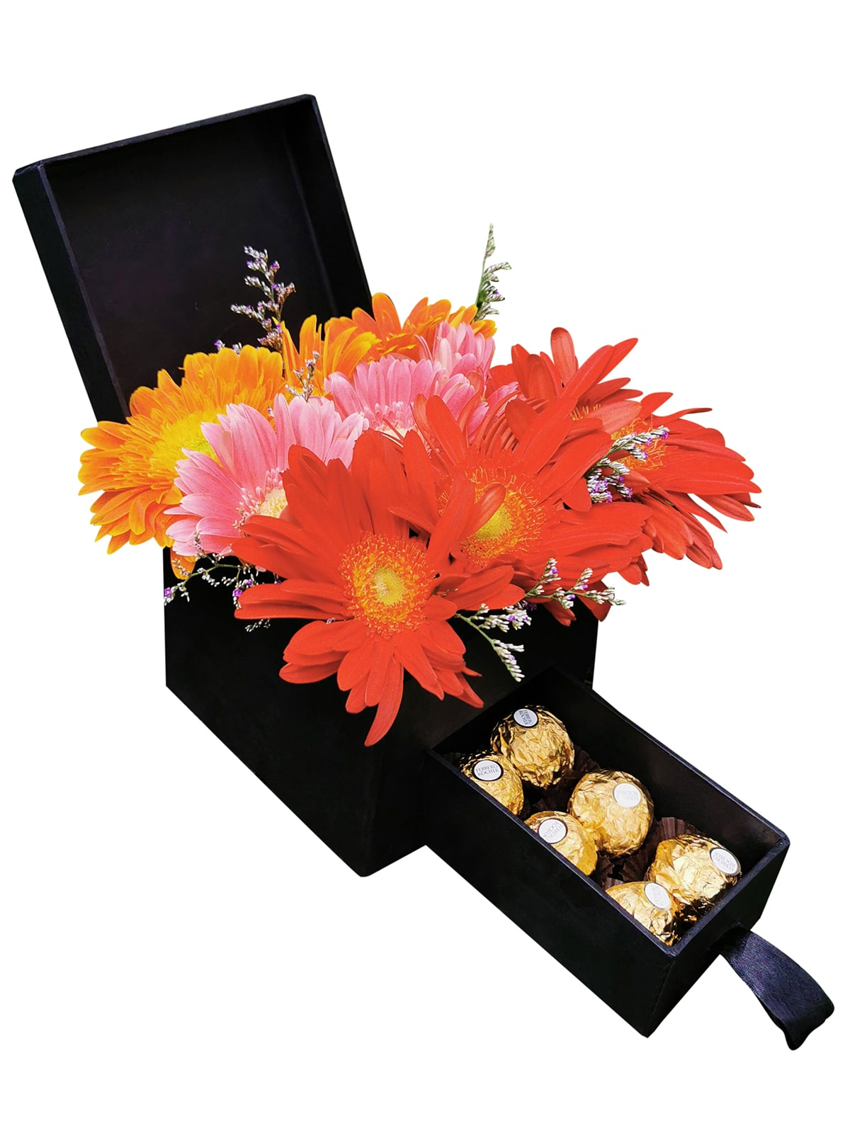 Mixed Gerbera Special Love Box