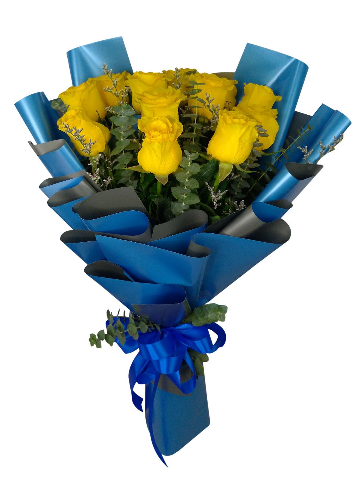 12 Stems Blue Rose