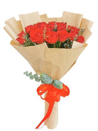 Red Roses 24 Kraft