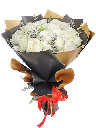 White Rose 24/36 Black Gold