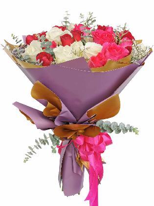 Mix Rose Purple Gold 36