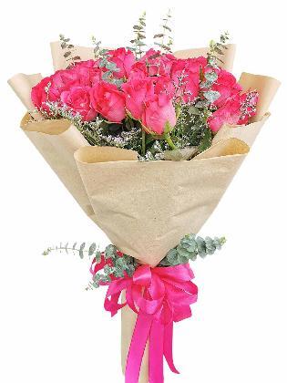 Pink Roses 36 Kraft