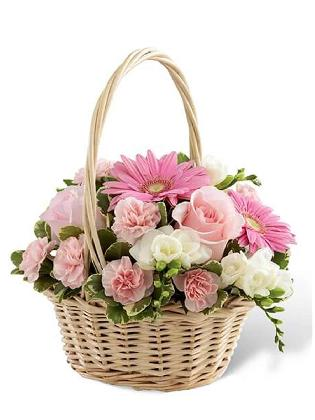 1134 Funeral Basket 014