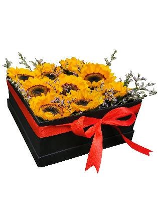 Sunflower Love Box 002