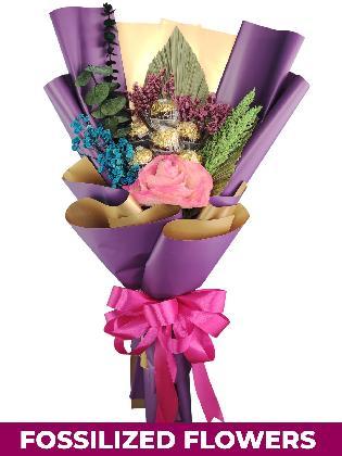 Pink Rose Purple / Gold