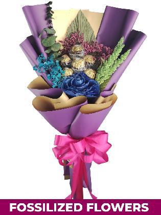 Blue Rose Purple/Gold